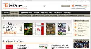 Accueil - Librairie Eyrolles 2011-08-12